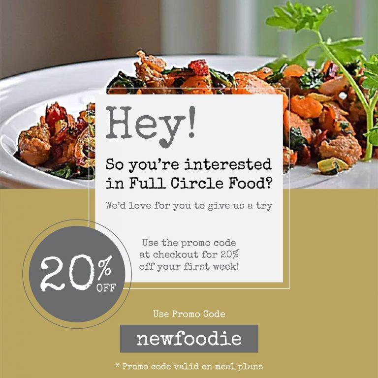 NewFoodie promo