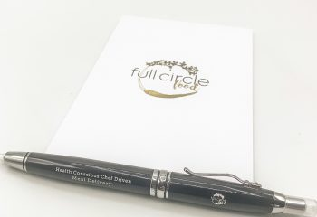 FCF Flashlight Pen & Notepad