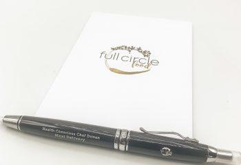 FCF Flashlight Pen & Notepad